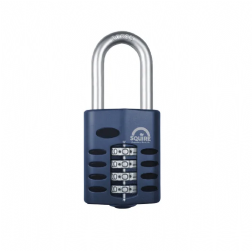 Squire CP50/1.5 Combination Padlock 4 Wheel 50mm Long Shackle 38mm